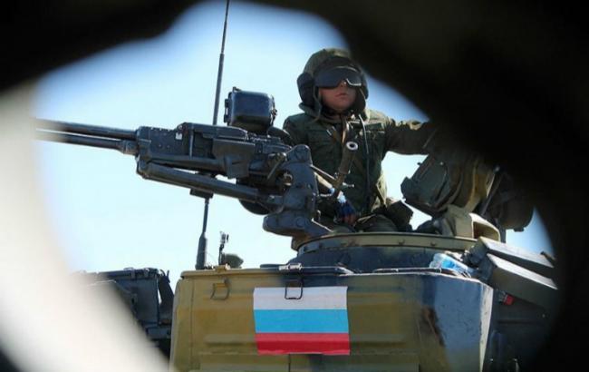 Фото: російські військові на Донбасі (прес-служба Міноборони РФ)