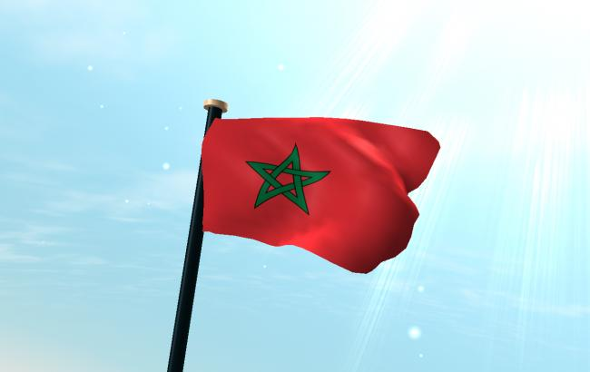 Фото: флаг Марокко