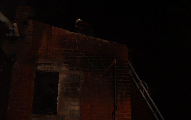 В Донецкой области на пожаре в жилом доме погиб мужчина
