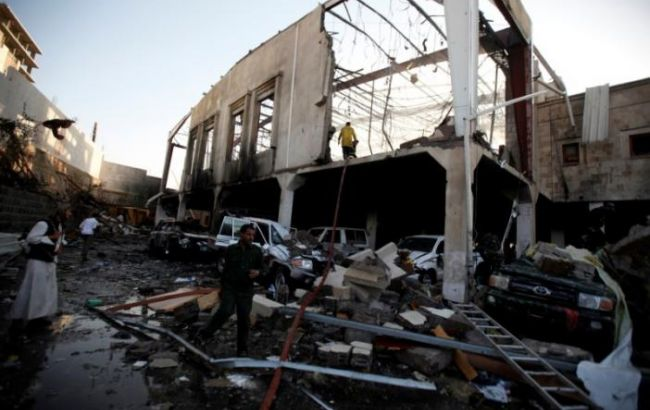 Арабская коалиция нанесла 5 ударов пойеменской столице