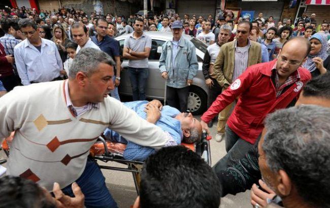 Фото: последствия взрыва в Египте