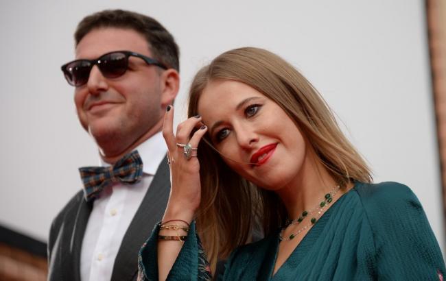 Ксения Собчак и ее муж, Максим Виторган