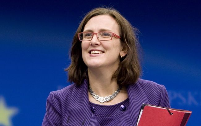 Еврокомиссар Мальстрем исключила переговоры с Британией до выхода из ЕС