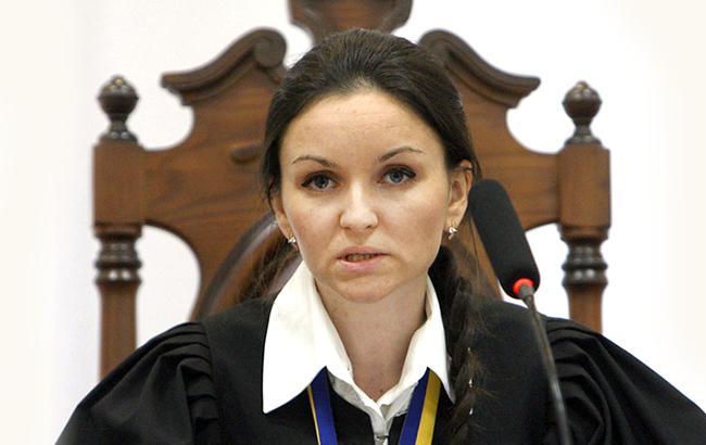 Оксана Царевич запомнилась процессами над Юлией Тимошенко и Юрием Луценко