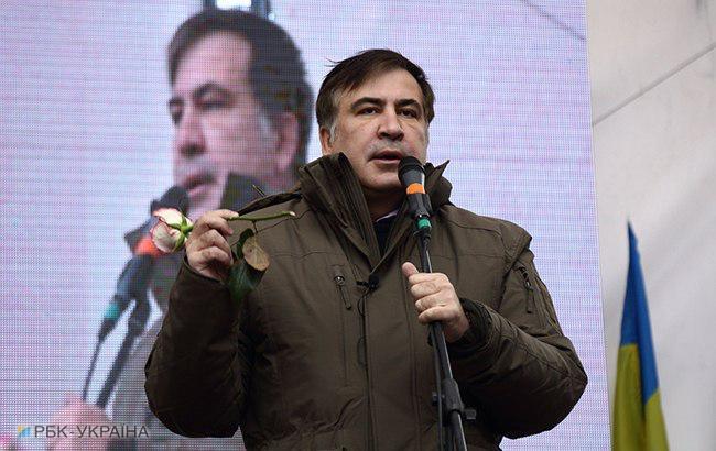 Фото: Михайло Саакашвілі (РБК-Україна)