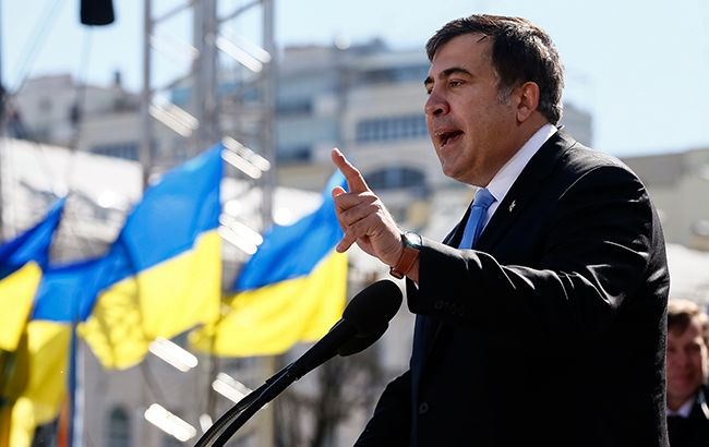 Фото: Саакашвили подал документы на отставку