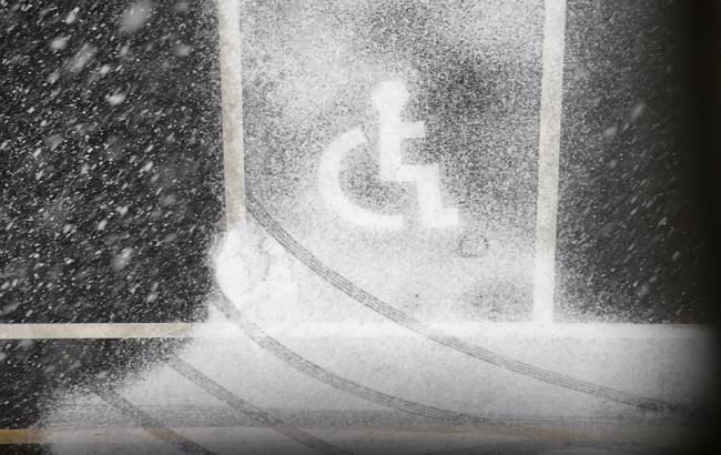 """""""Инвалид в квадрате"""": в Киеве заметили очередного """"героя парковки"""""""