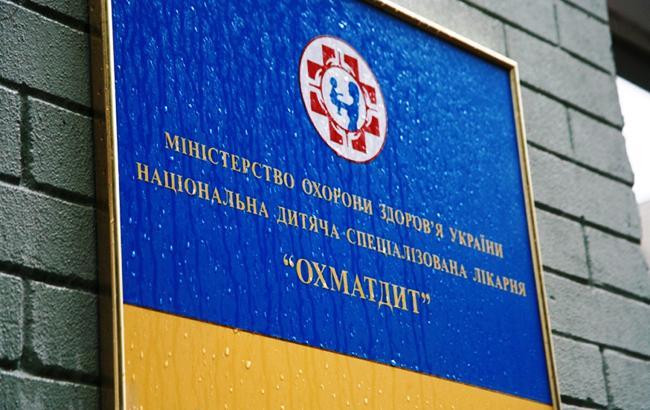 """Неизвестные дважды пытались затопить помещение нового корпуса """"Охматдета"""""""