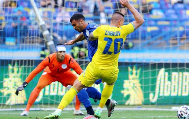 Украина разгромила Кипр в последнем товарищеском матче перед Евро