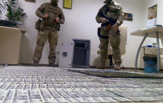 Фото: обыск у чиновников ГПУ