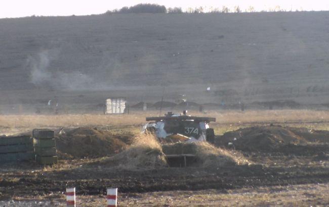 Фото: навчання бойовиків на Донбасі