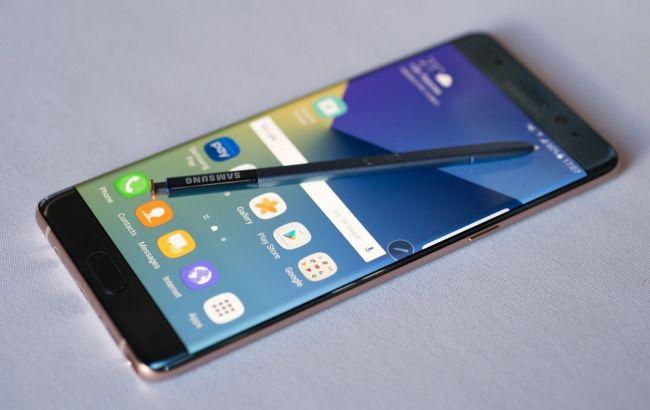 Фото: смартфон Samsung Galaxy Note 7