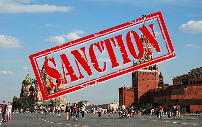Фото: санкции в отношении РФ (коллаж РБК-Украина)