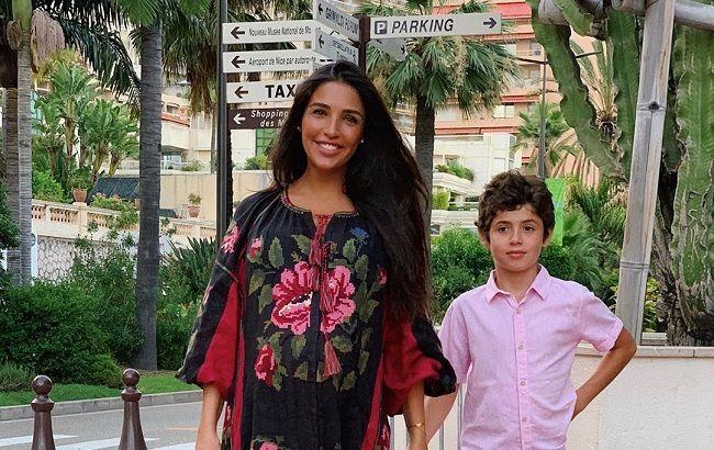 Санта Дімопулос розповіла, як син відреагував на новину про її вагітність