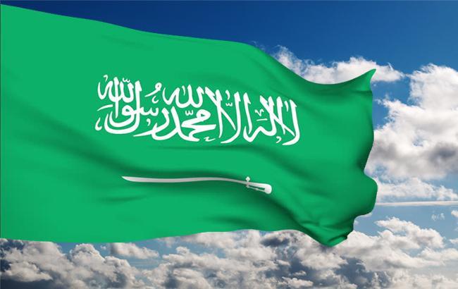 Фото: флаг Аравии (коллаж)
