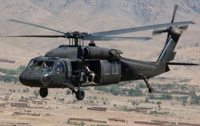 Фото: вертолет Black Hawk