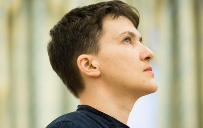 Фото: Надежда Савченко в ДТП не пострадала (focus.ua)