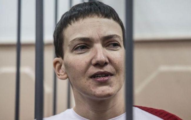 Российский омбудсмен требует сообщить о местонахождении Савченко