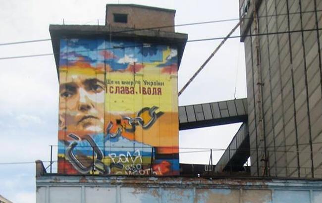 """""""Це буде сюрприз"""": у Запоріжжі зміниться мурал з Савченко"""
