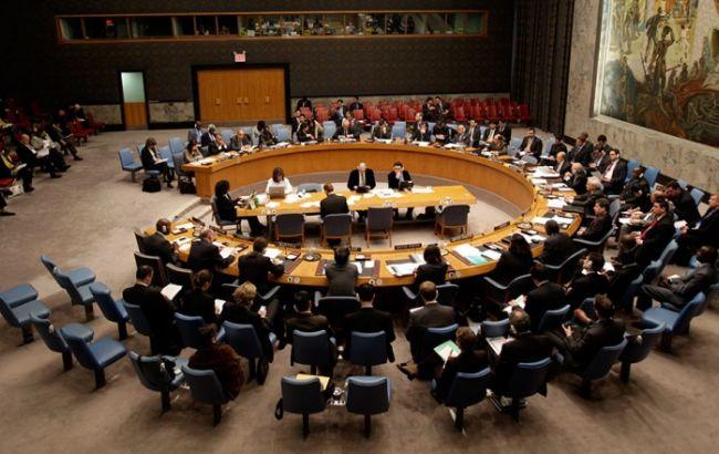 Фото: члени РБ ООН погодилися вжити надзвичайних заходів у відповідь на дії КНДР