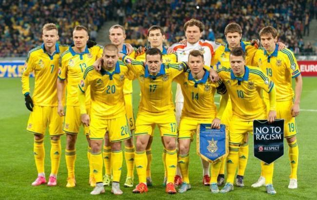 Сборная Украины опустилась на31-е место врейтинге ФИФА