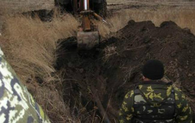Фото: подпольный трубопровод в Луганской области (пресс-центр СБУ)