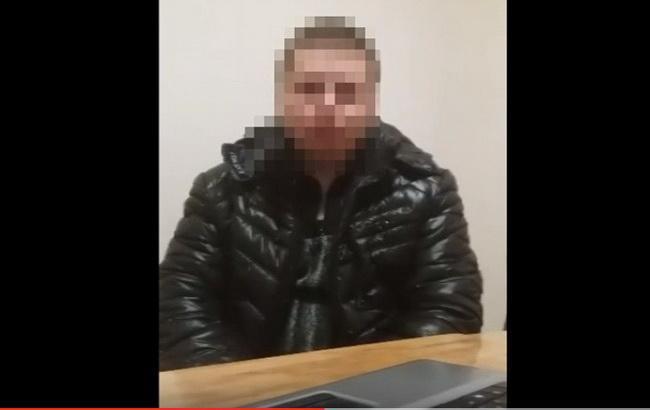 Фото: затриманий адміністратор антиукраїнської інтернет-спільноти ЛНР