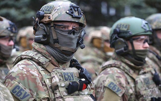 ВКиеве СБУ поймала на«горячем» подполковника Нацполиции