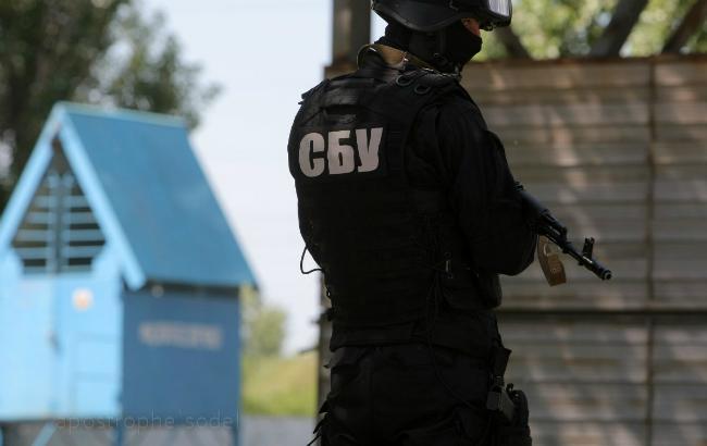 Фото: оперативники Службы безопасности Украины