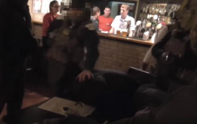 Фото: задержание похитителей людей (кадр c YouTube /СБУ)