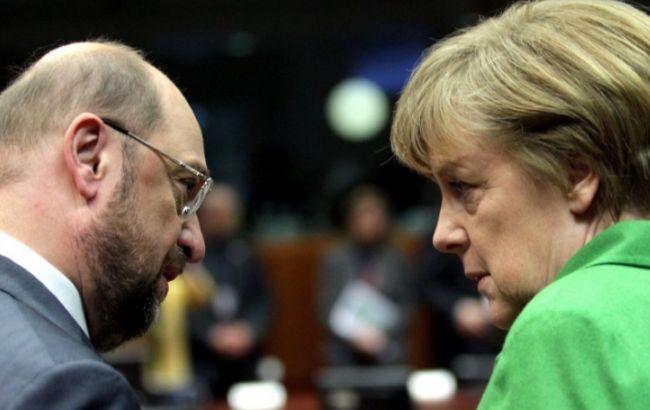 Коалиция Меркель оказалась лидером попопулярности вГермании