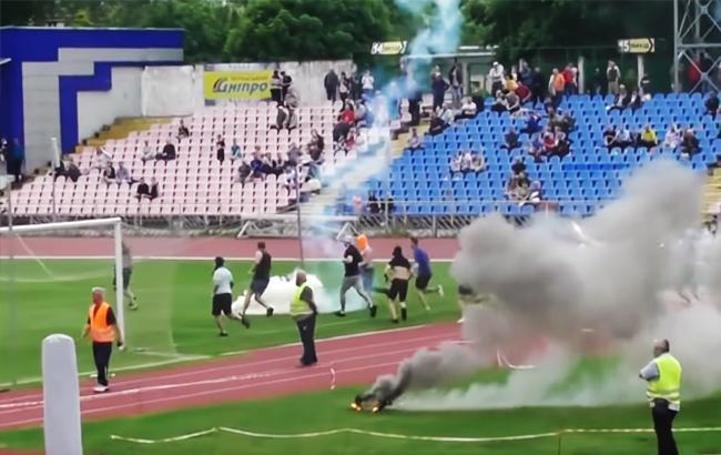 За фактом зіткнень фанатів з поліцією в Черкасах відкрили кримінальне провадження