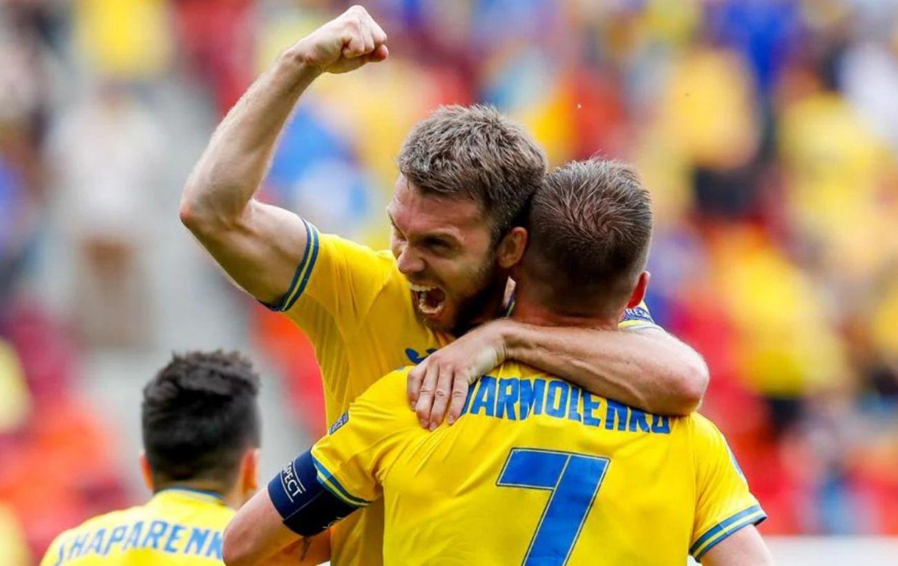 Украина вышла в 1/8 финала Евро с третьего места в группе