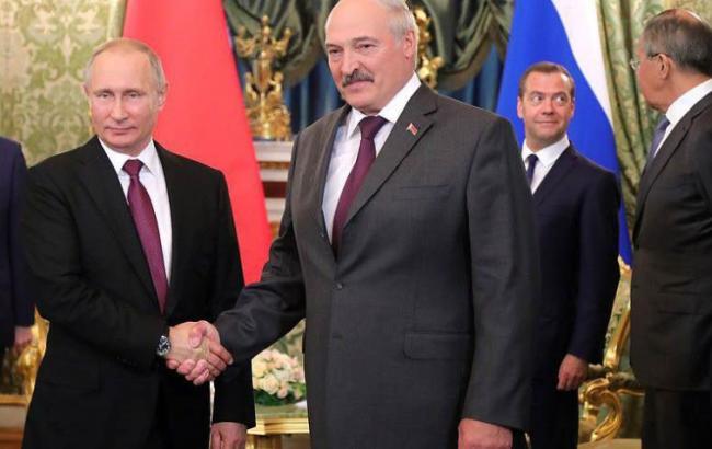 Фото: Зустріч між президентами Білорусі і РФ (facebook.com/photo)