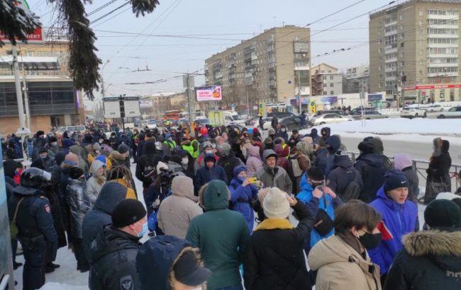 Посольство США опубликовало места протестов в России в поддержку Навального