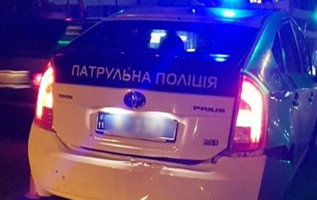 Фото: в Івано-Франківську п'яний водій в'їхав автомобіль патрульної поліції (if.npu.gov.ua)