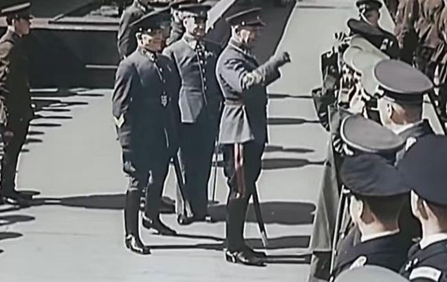 З'явилося архівне відео параду в Москві з гітлерівськими військовими в травні 1941 року