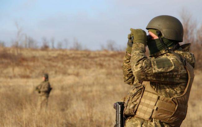 Боевики пять раз обстреляли украинские позиции на Донбассе