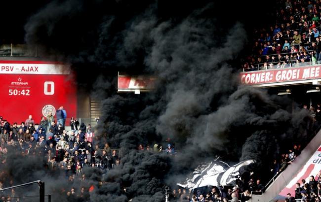 Футбольні фани влаштували на матчі вибух