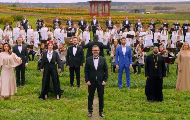 """Пономарьов записав із зірками унікальний піснеспів """"Христос Воскрес"""" 12 мовами (відео)"""