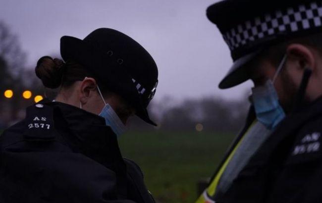 Під час протестів у Лондоні постраждали вісім поліцейських