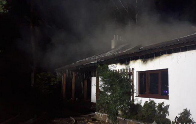 Полиция открыла дело по факту поджога дома Гонтаревой