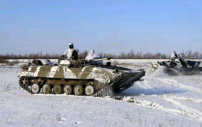 Боевики трижды обстреляли украинские позиции на Донбассе