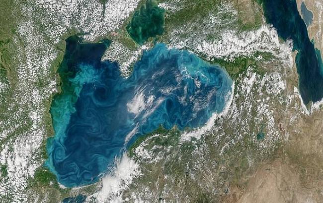 Фото: Чорне море (dailymail.co.uk)