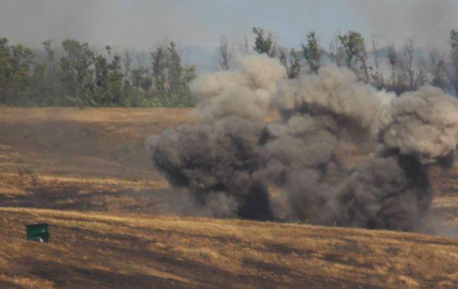 Бойовики провокували українських військових біля Гнутового