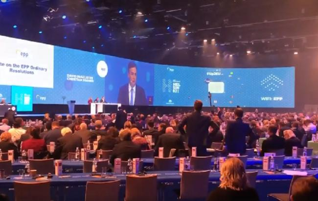 Конгрес Європейської народної партії зазначив невизнання російської анексії Криму