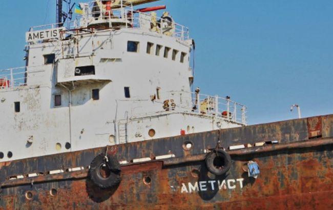 Біля Чорноморська тоне судно рятувальників, відбувся витік нафтопродуктів