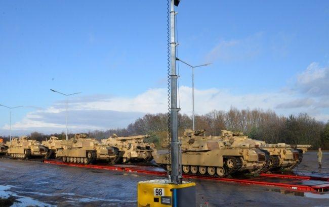 В Польше начались военные учения при участии военных США