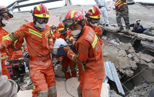 В Китае сообщили о жертвах обрушения отеля