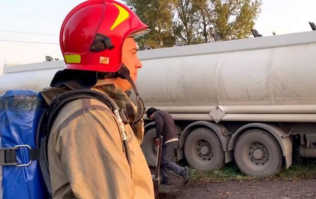 Забруднення в радіусі кілометра: у Черкасах прорвало ємність з добривами